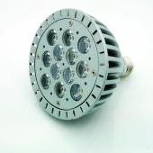 LED spot, PAR30, E27, 5W, 230V, meleg fehér fény