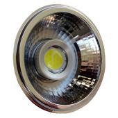 LED spot, GU10, 10W, 230V, meleg fehér fény