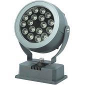LED lámpa, 18W, 230V, beépíthető, kültéri, fehér f