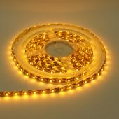 LED szalag, 3528, 60 SMD/m, nem vízálló, sárga fén