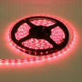 LED szalag, 3528, 60 SMD/m, nem vízálló, piros fén