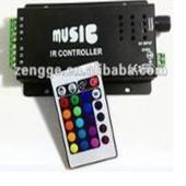 Távirányító RGB LED szalaghoz 216W, 12V/18A, 24 gombo...
